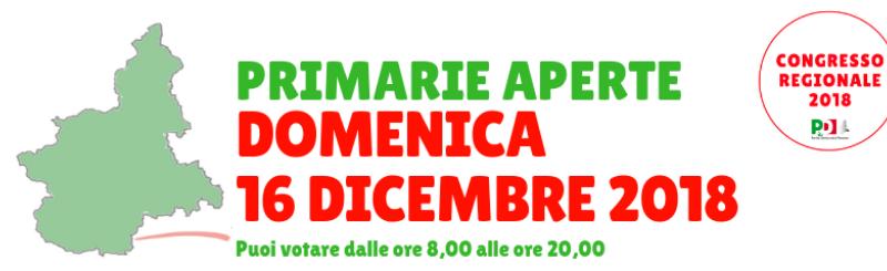 Il Pd e le Primarie in Piemonte. Tre mozioni per un segretario