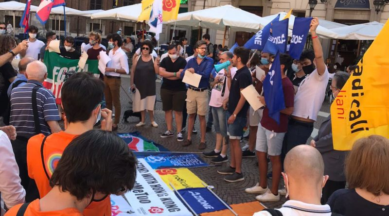 Per Hong Kong i giovani Torino si uniscono: i diritti umani prima di tutto