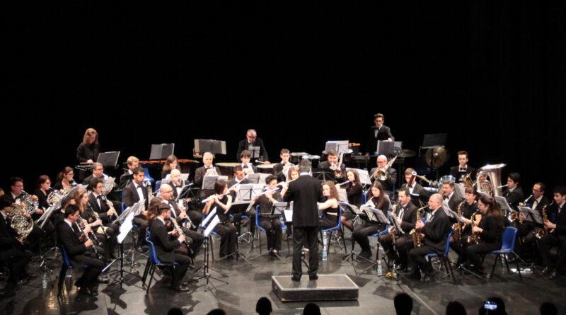 L'Orchestra Fiati di Collegno si prepara al concerto di Natale