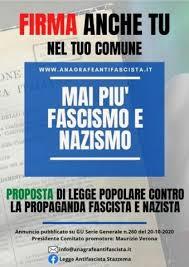 Grugliasco:proposta di legge contro la propaganda fascista, in comune la raccolta firme